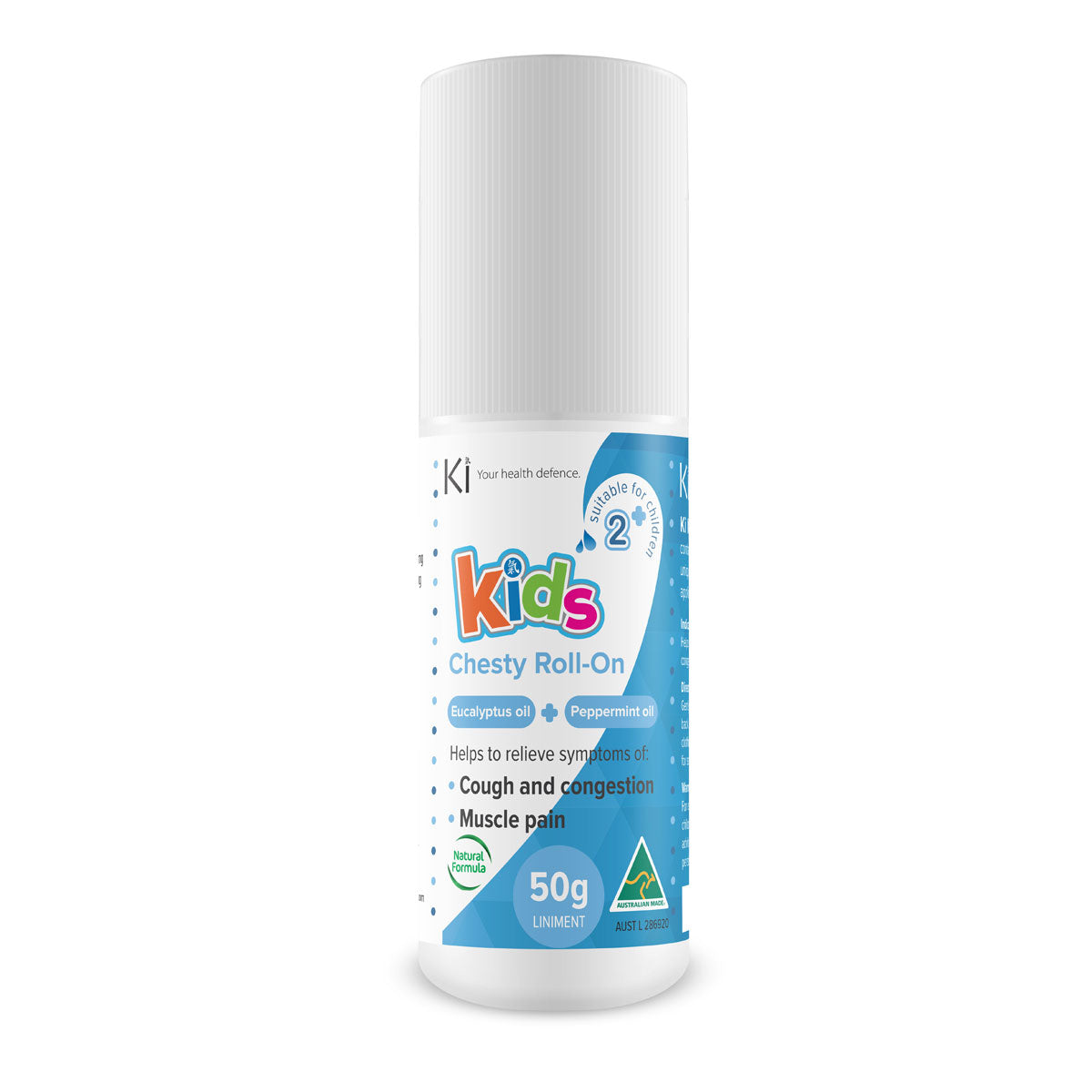 Ki Kids Chesty Roll-On 50g