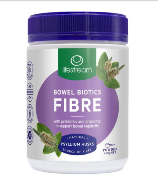 Lifestream Bowel Biotics Fibre With Prebiotics And Probiotics 400g