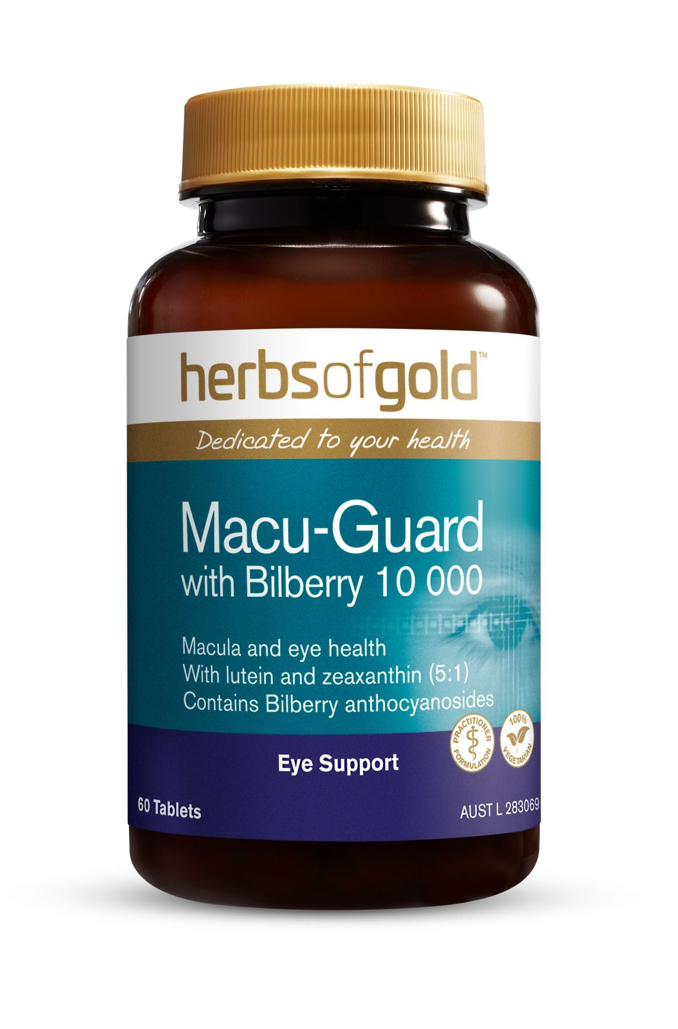 HERBS OF GOLD MACU GUARD WITH BILBERRY 60C