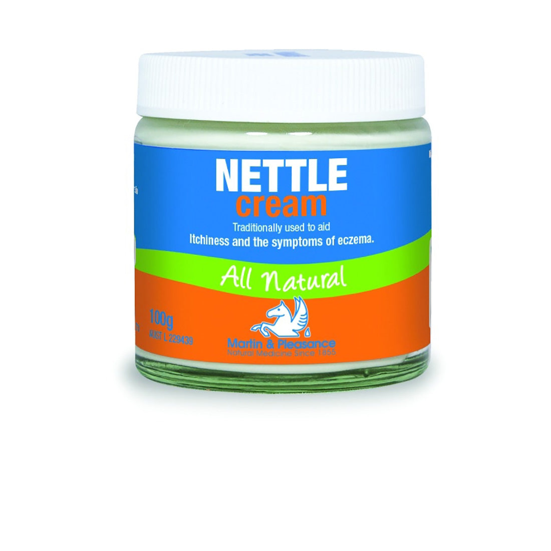 Martin & Pleasance Herbal Cream Nettle 100g