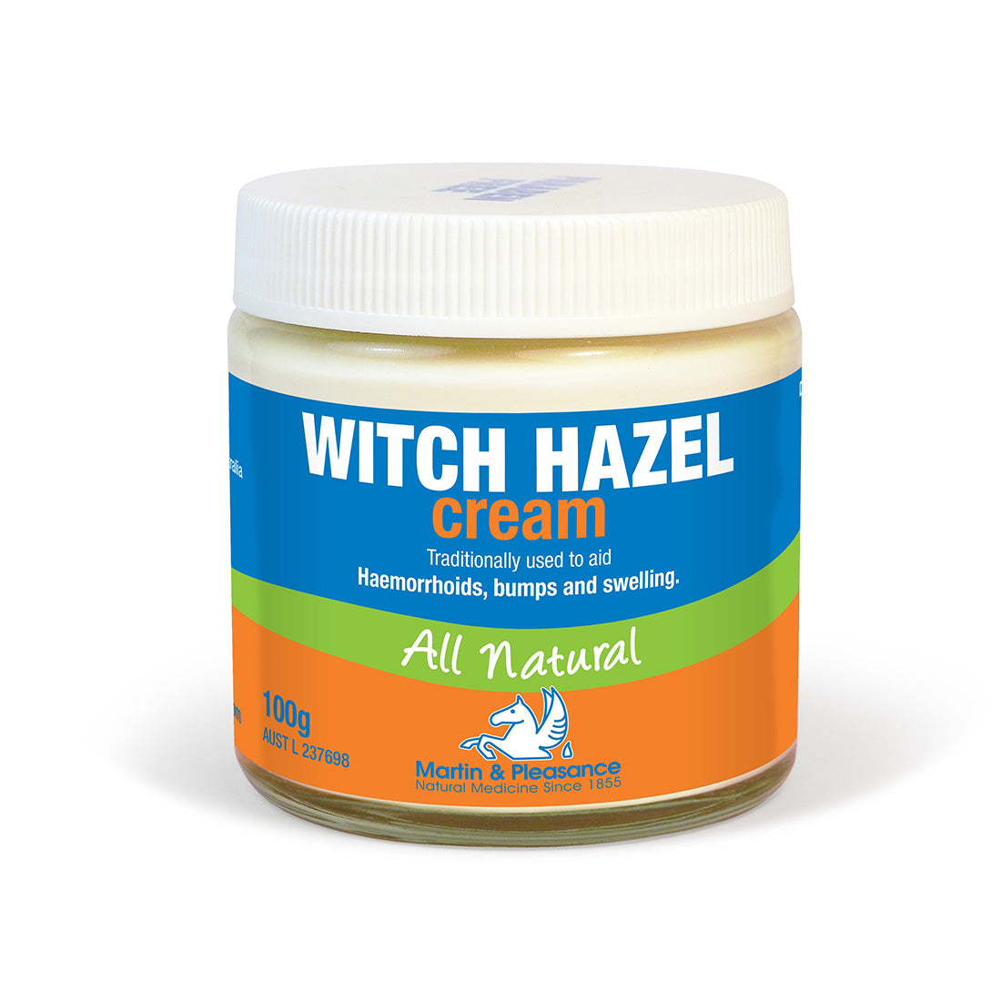 Martin & Pleasance Herbal Cream Witch Hazel 100g