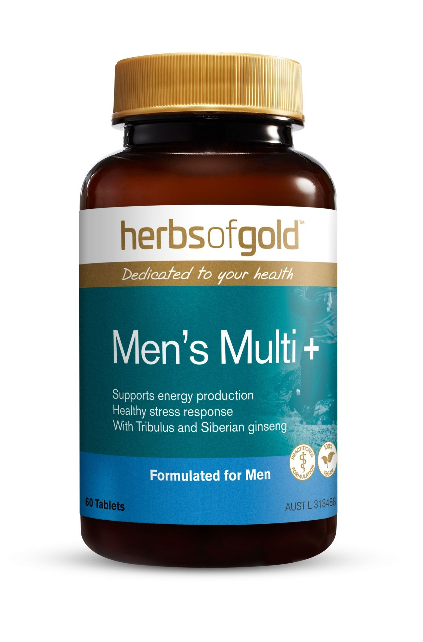 HERBS OF GOLD MEN'S MULTI + 60T