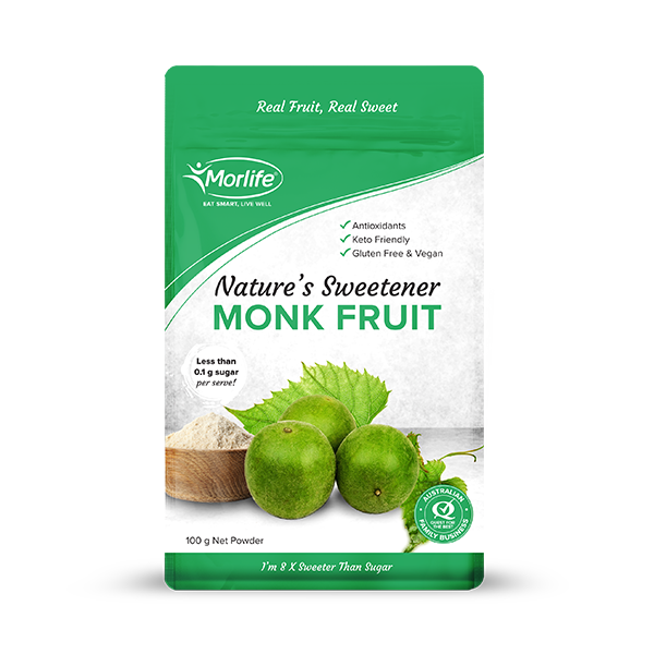 MORLIFE- MONK FRUIT POWDER 100G