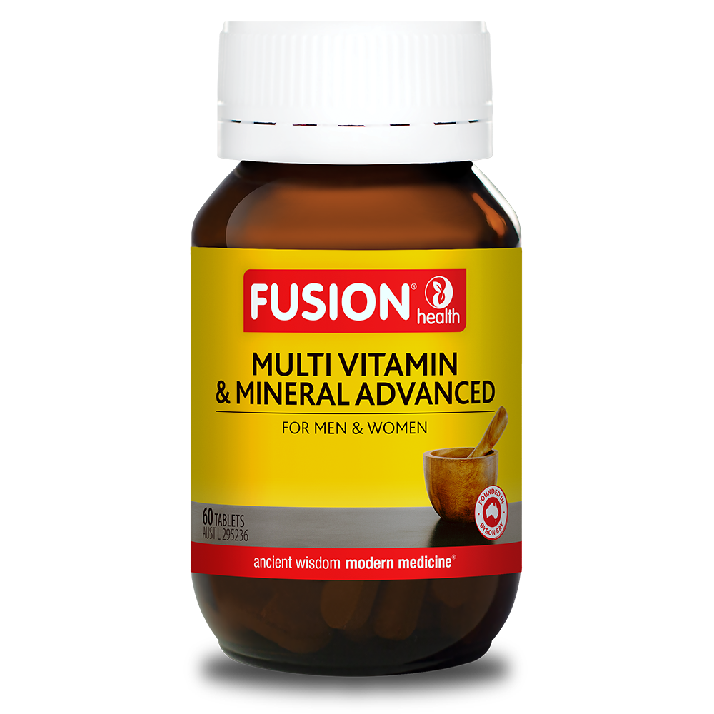 FUSION MULTI VITAMIN ADVANCED 90T