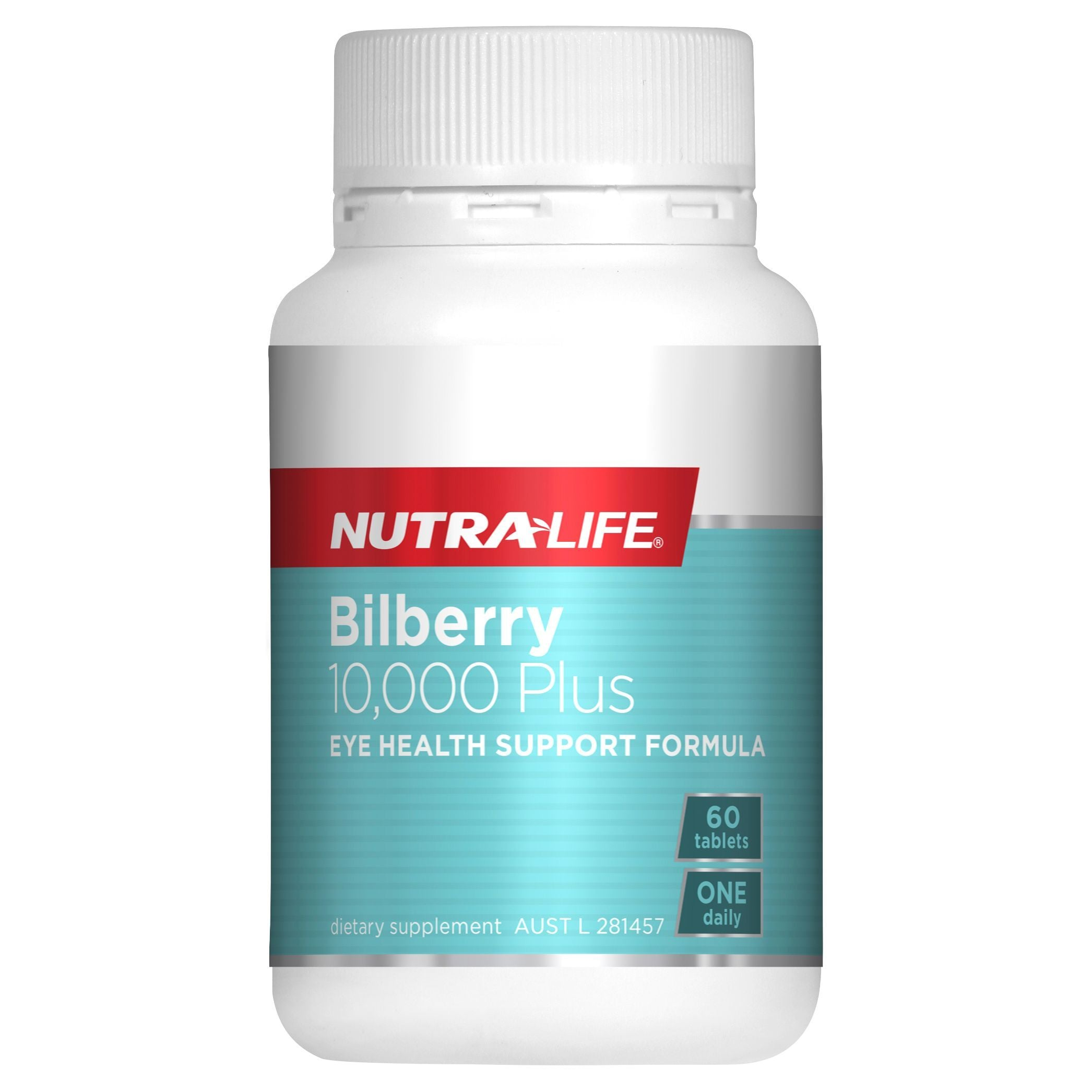 NUTRA-LIFE BILBERRY 10000 PLUS LUTEIN 60T