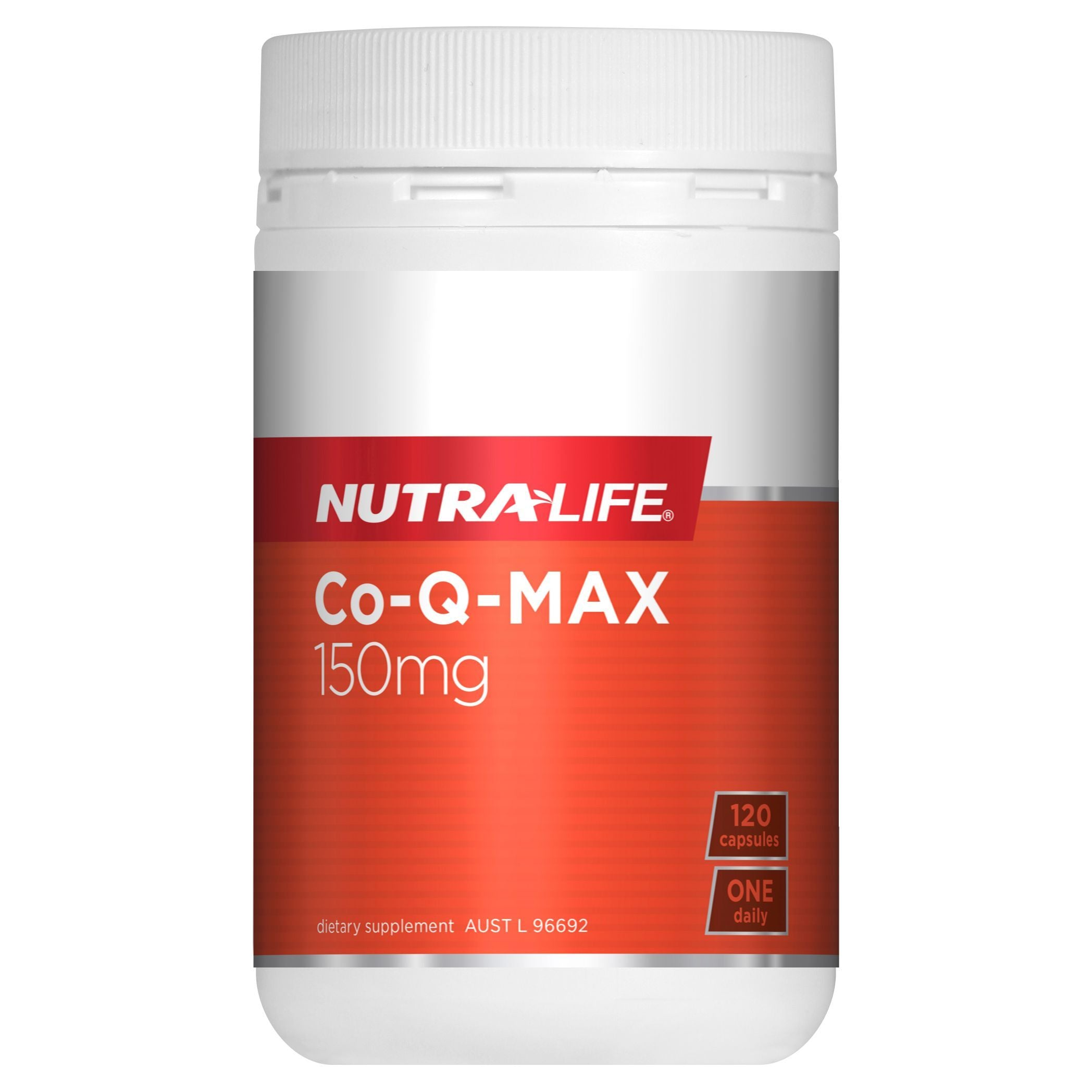 NUTRA-LIFE CO-Q MAX 120C