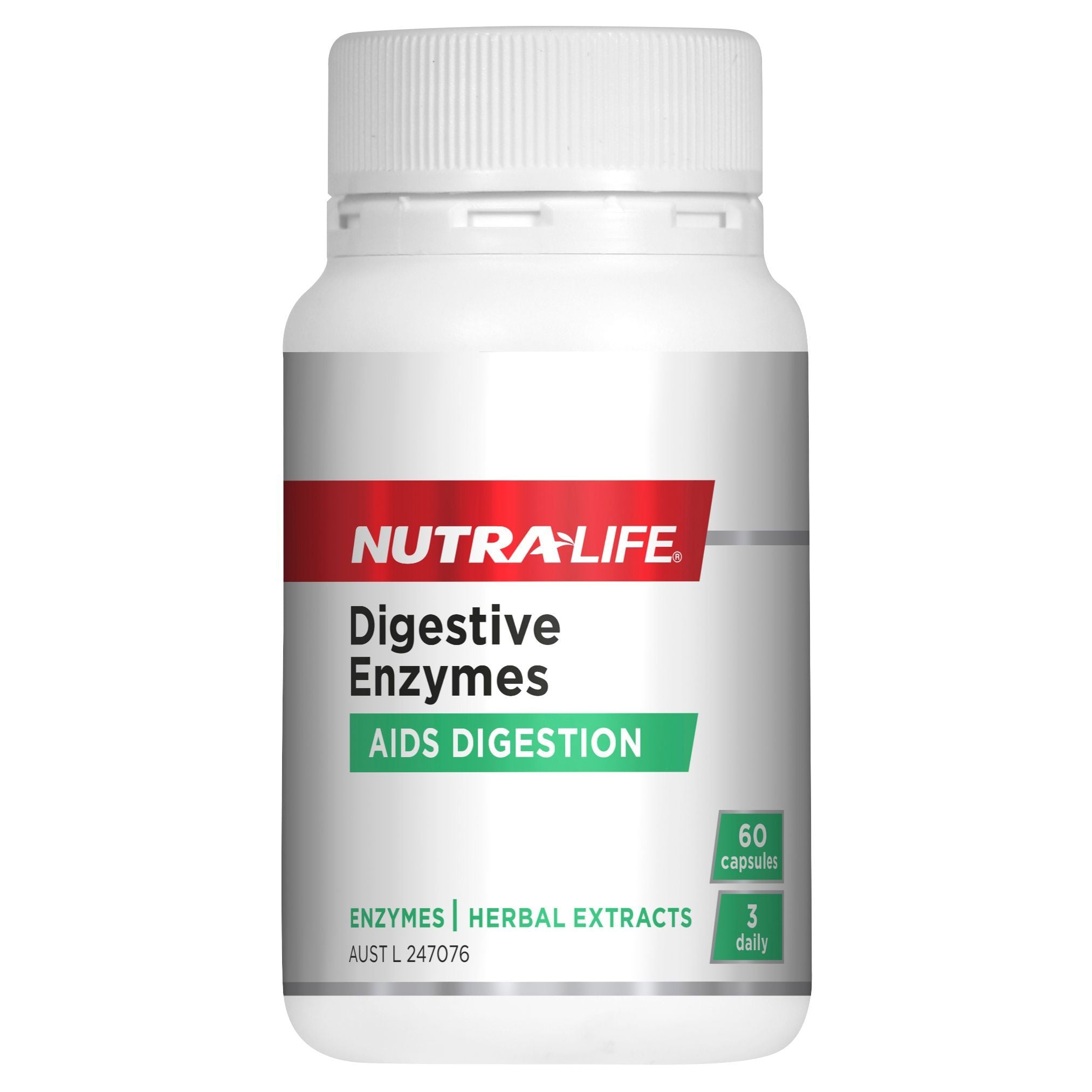 NUTRA-LIFE DIGESTIVE ENZYMES 60C