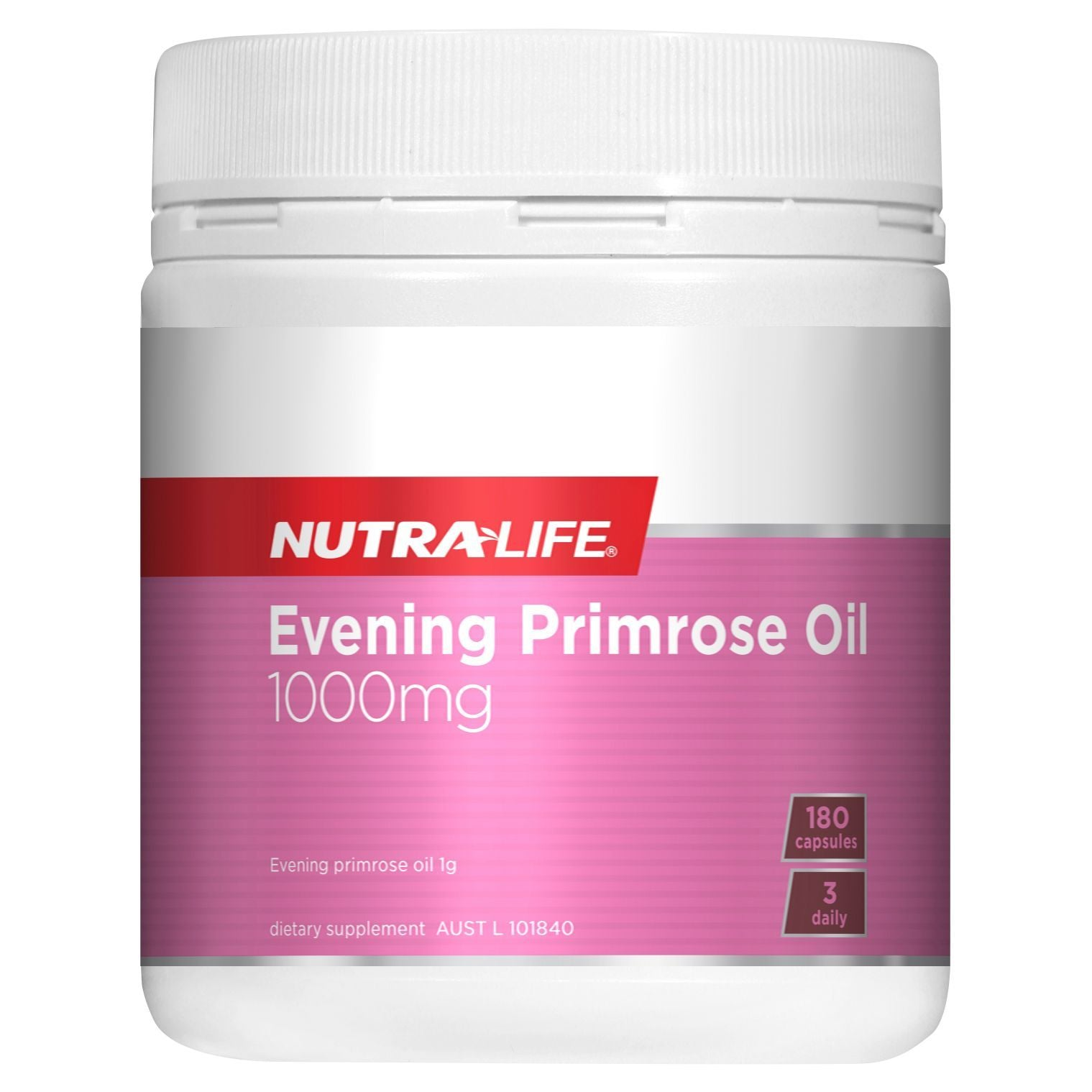 NUTRA-LIFE EVENING PRIMROSE OIL 180C