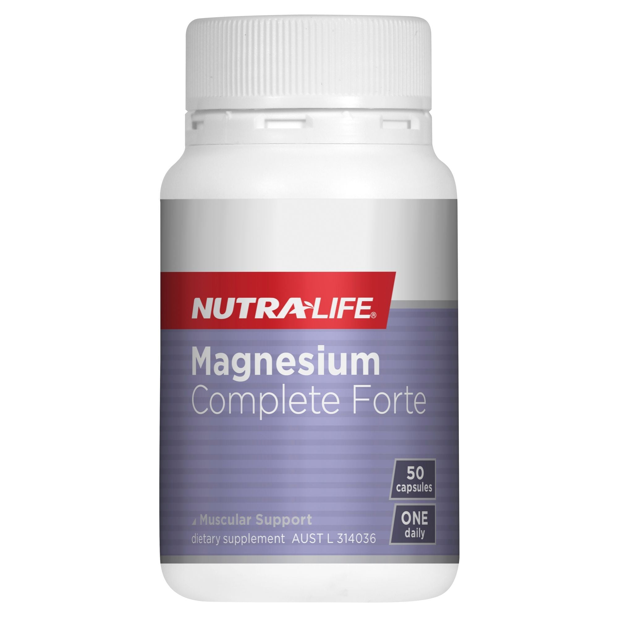 NUTRA-LIFE MAGNESIUM FORTE 400MG 50C