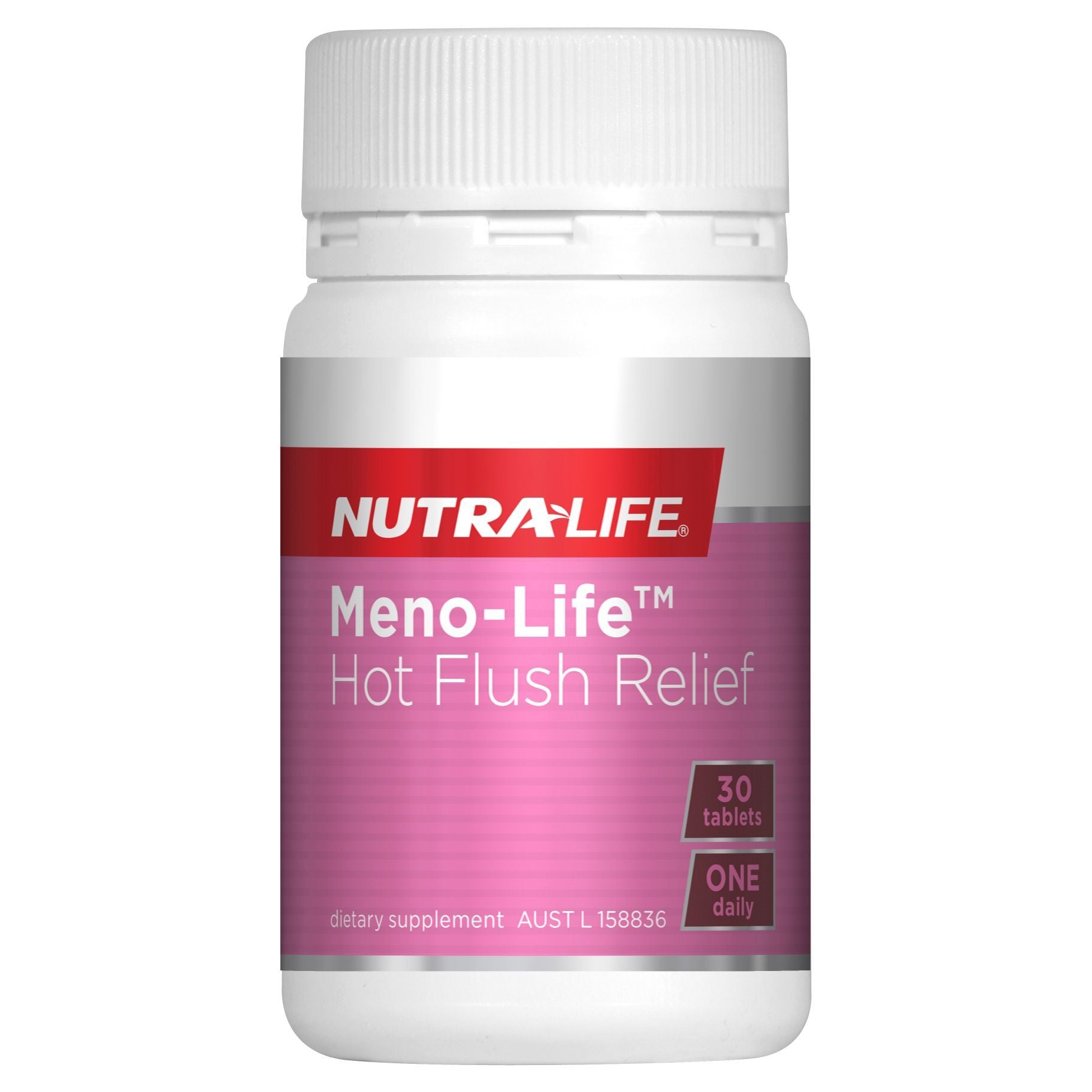 NUTRA-LIFE MENO-LIFE HOT FLUSH RELIEF 30T