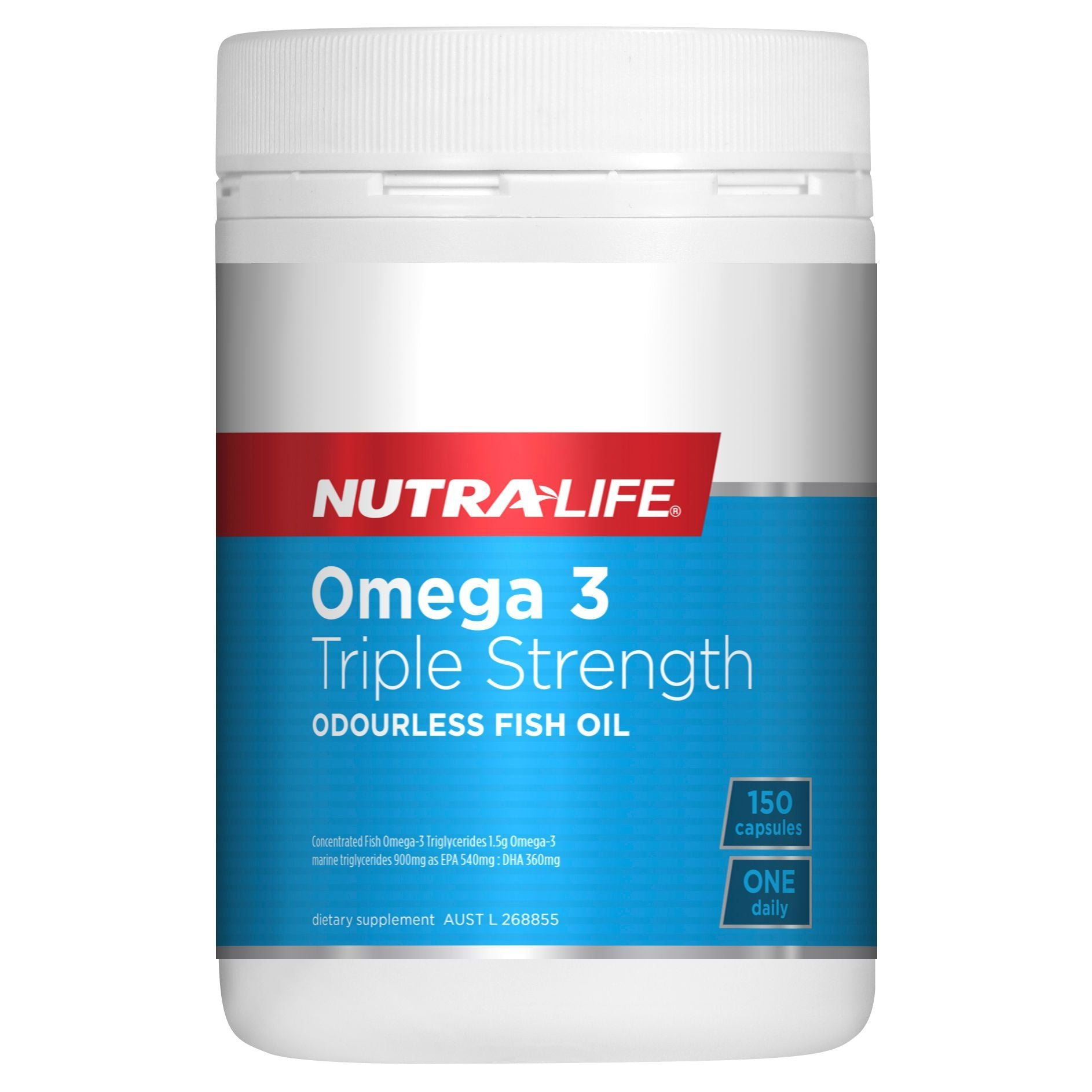 NUTRA-LIFE TRIPLE STRENGTH OMEGA 3 150C