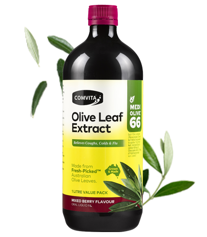 Comvita Olive Leaf Extract Mixed Berry - 1L