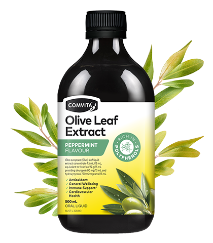 Comvita Olive Leaf Extract Peppermint - 500ml