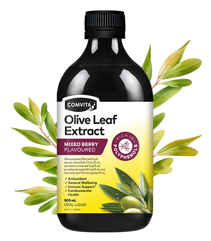 Comvita Olive Leaf Extract Mixed Berry - 500ml