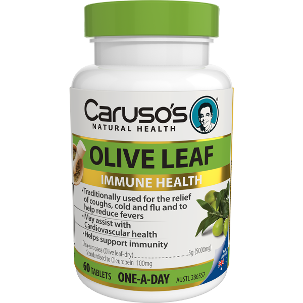 Caruso's Olive Leaf - 60 Tablets