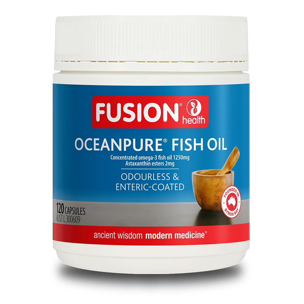 FUSION OCEANPURE FISH OIL 1250MG 120C