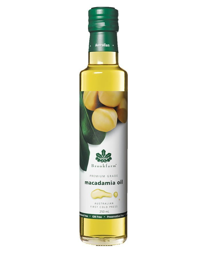 Brookfarm Premium Grade Macadamia Oil 250ml