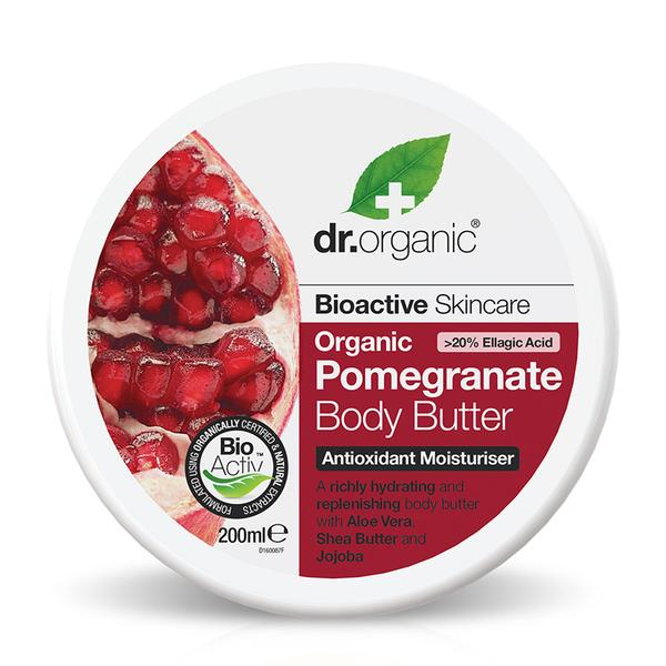Dr. Organic Pomegranate Body Butter 200ml