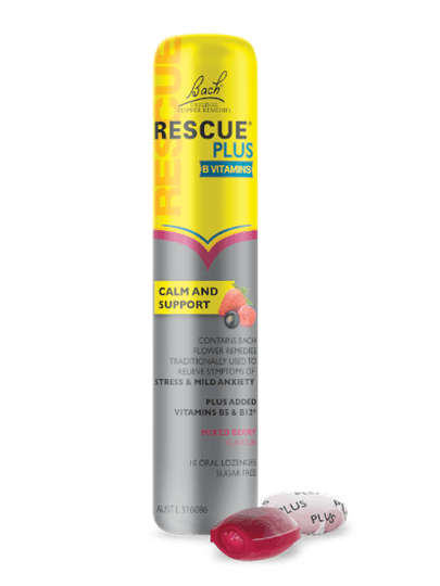 Rescue Remedy Rescue Plus Lozenge Mixed Berry