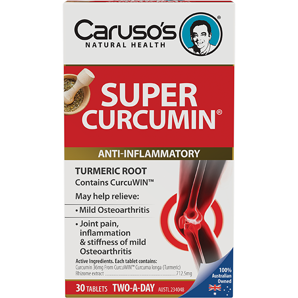 Caruso's Super Curcumin - 30 Tablets