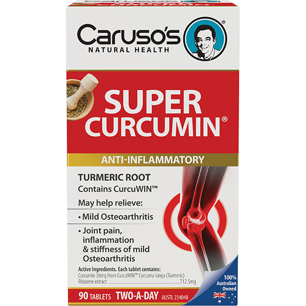 Caruso's Super Curcumin - 90 Tablets