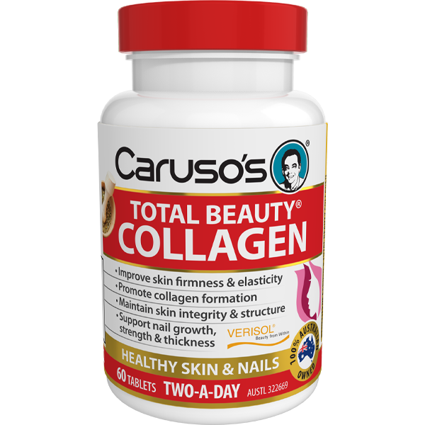 Caruso's Total Beauty Collagen - 60 Tablets