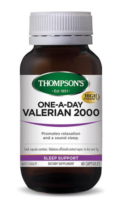 Thompson's One-A-Day Valerian 2000 60 Capsules