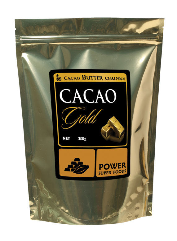 Power Super Foods Raw Organic Cacao Butter 250g