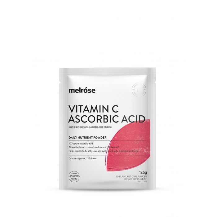 Melrose Vitamin C Ascorbic Acid Powder 125g
