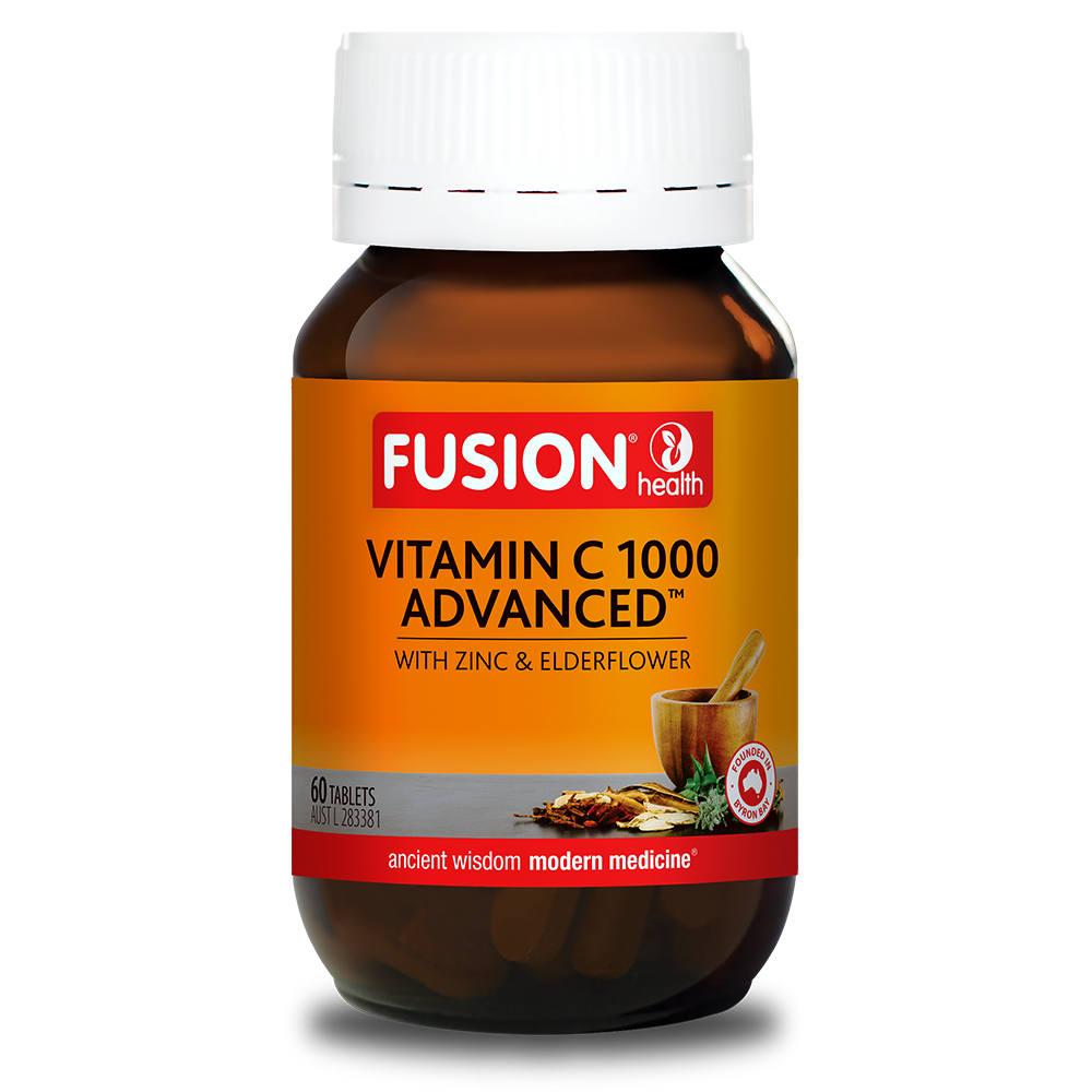 FUSION VITAMIN C 1000 ADVANCED 60T CHEW