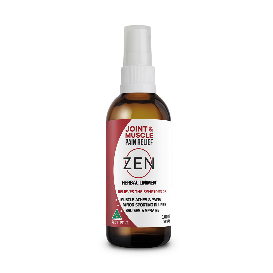 Zen Joint & Muscle Pain Relief Spray 100ml