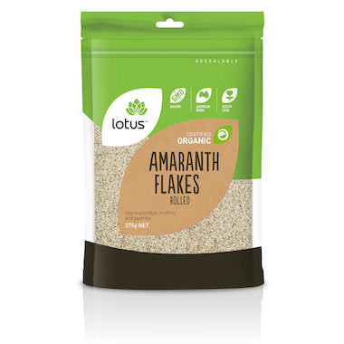 Lotus Amaranth Flakes Rolled Organic 375g