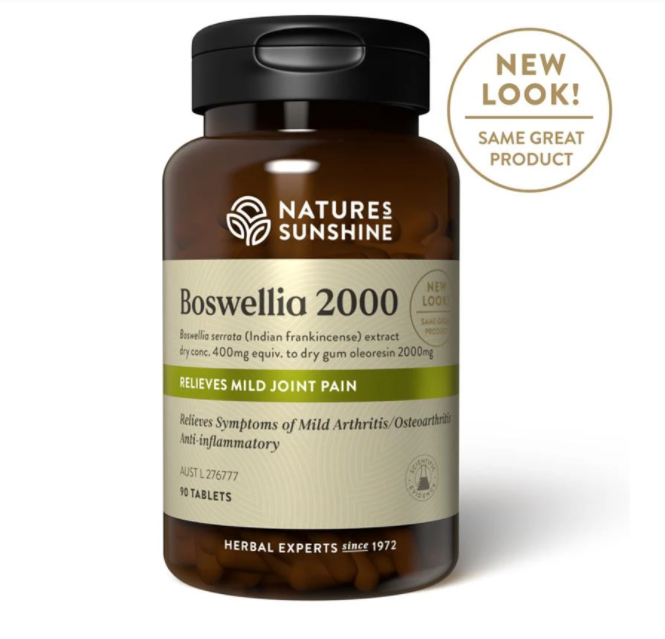 Nature's Sunshine Boswellia 2000 - 60 Tablets