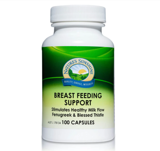 Nature's Sunshine Breast Feeding Support - 100 Capsules