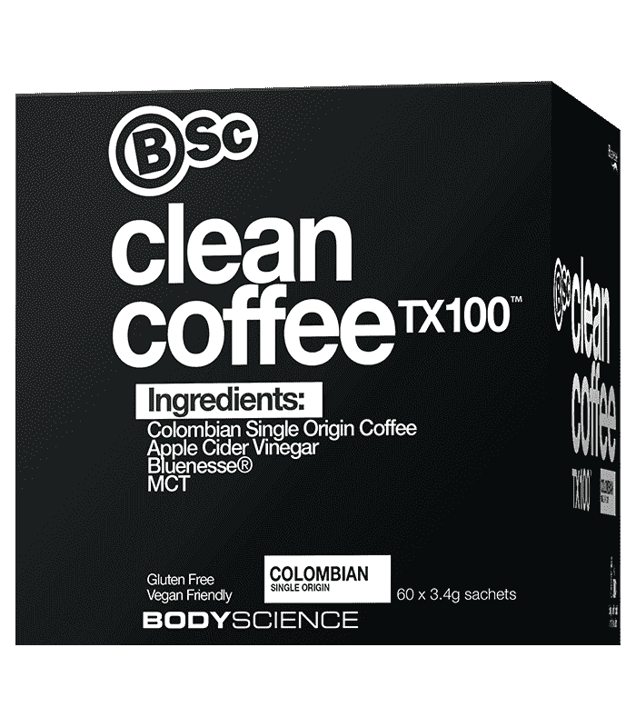 Body Science Clean Coffee TX100 60 Sachets
