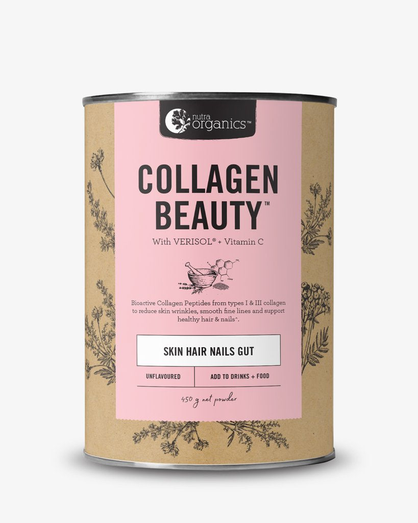 Nutra Organics - Collagen Beauty 450g