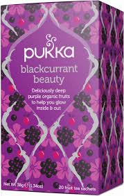 Pukka Organic Tea Blackcurrant Beauty
