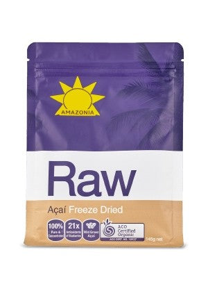 Amazonia Raw Freeze Dried Açaí 145g