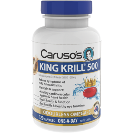 Caruso's King Krill 500mg - 120 Capsules