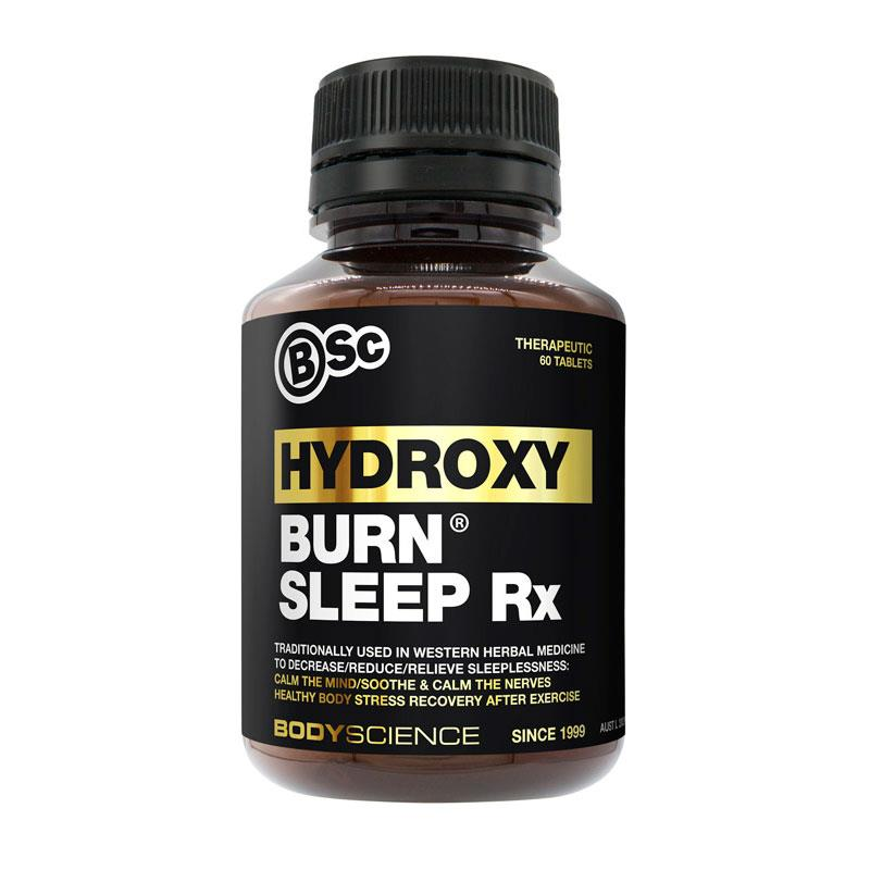 Body Science HydroxyBurn Sleep Rx 60 Tablets