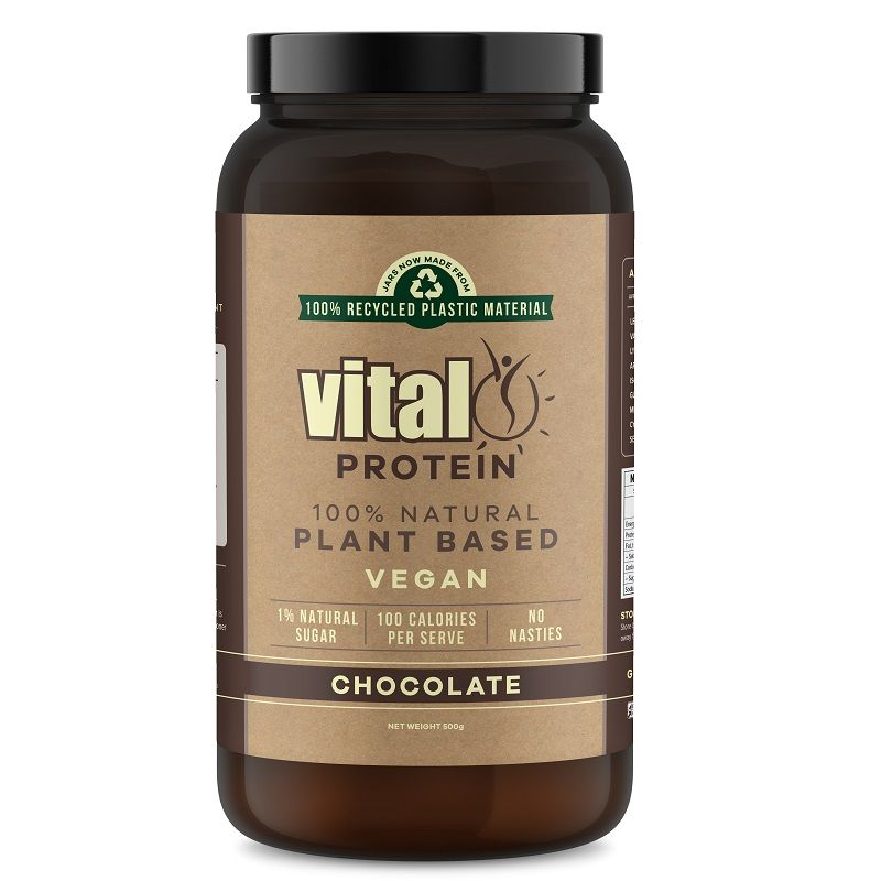 Vital Plant Based Protein Chocolate 500g