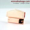 """Snappy"" Edge Clasp in Copper by Emmaline Bags"