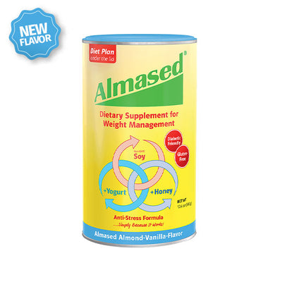 single can almased almond-vanilla flavor