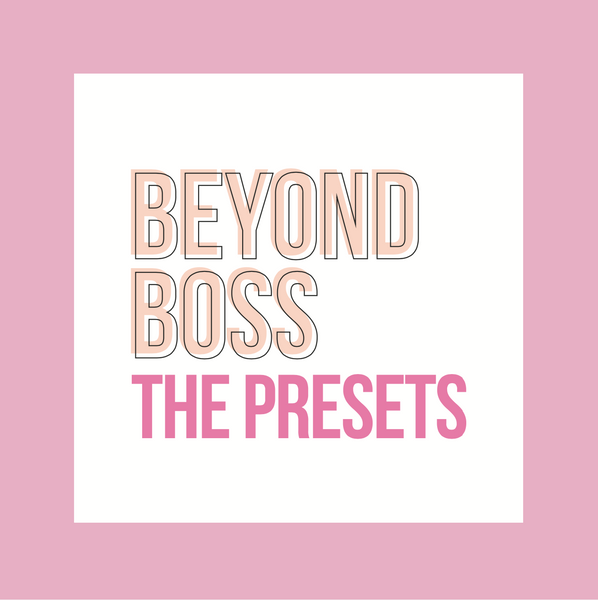The Beyond Boss Mobile Preset