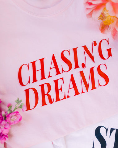 CHASING DREAMS Long Sleeve Tee