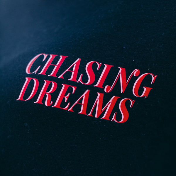 CHASING DREAMS Tee - Black