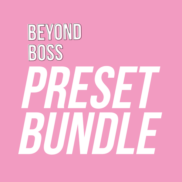 The Beyond Boss Mobile Preset - The Bundle