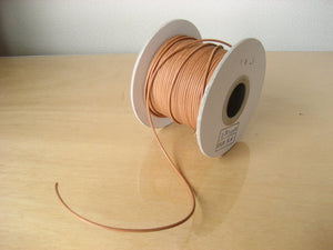 Nume Round String (WoodWood Leather) Diameter 2mm 60cm Cut Materials Research Institute , Aging Aging