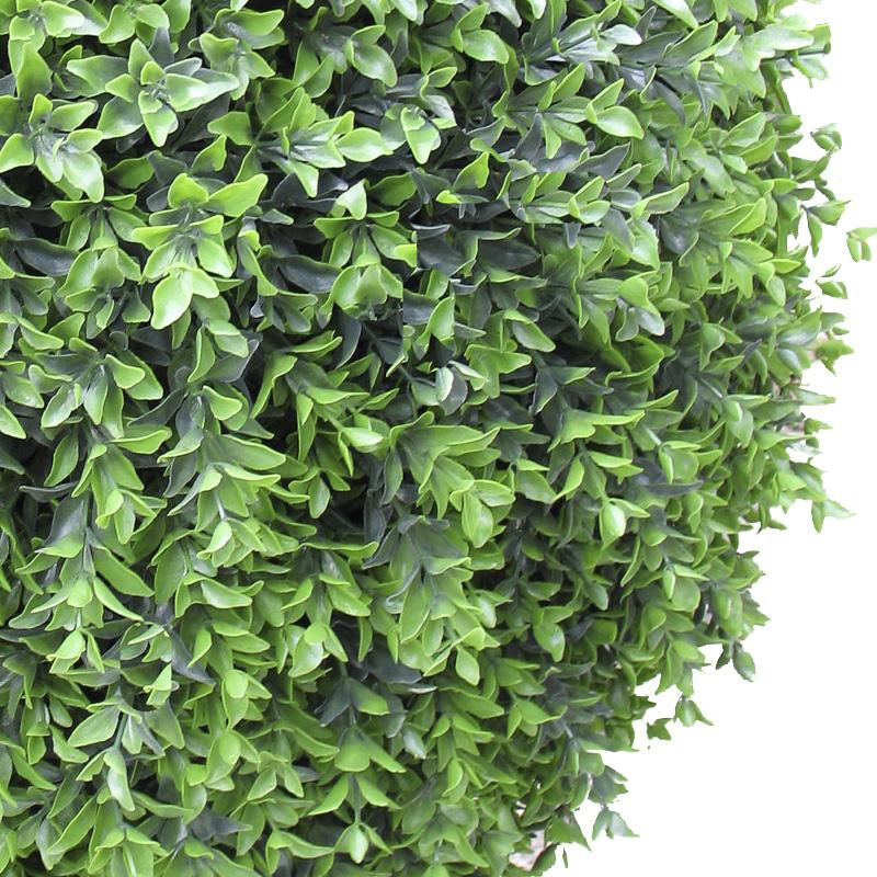"Boxwood Ball in Urbano Square, 30""D"