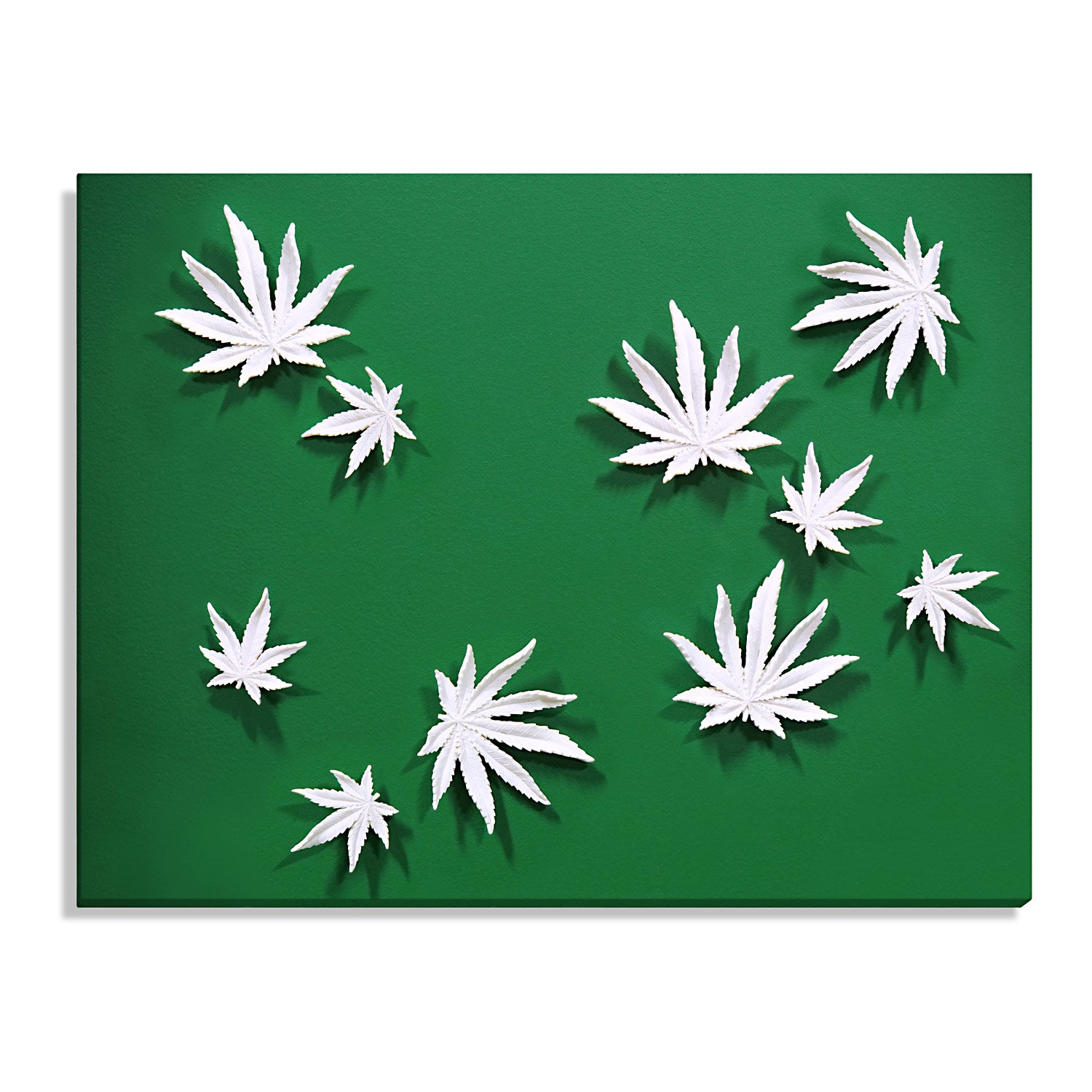 Wall Play™ Substrate, 'Cannabis Leaves'